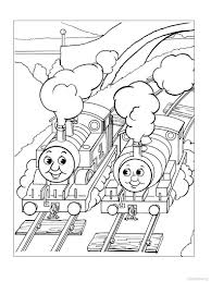 Thomas The Train Coloring Pages Picture