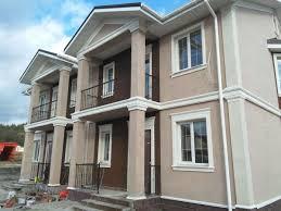 Stucco Trim Designs Townhouse Design With Stucco Trim Foam House Exterior