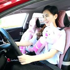car seat pillow pet new pets cat belt cover child pig in belts padding from