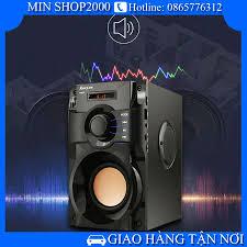Loa Bluetooth Không Dây, Loa nghe nhạc RS A100 âm thanh 3D CỰC HAY - CỰC  CHẤT - Có điều khiển từ xa