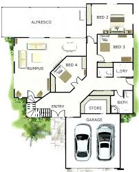 House Plans Design Home Floor Plan 4 Bedroom 2 Bathroom House Plan ...