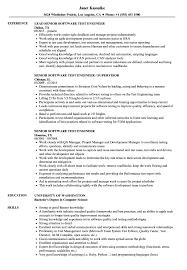 Resume For Experiencedtware Tester Qa Sample Samples Velvet