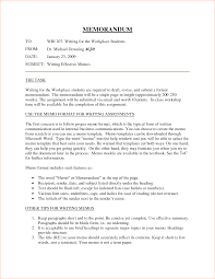 Business Memo Standard Memo Template Business Memo Template Business Memo 5