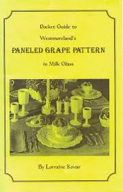 Grape Pattern Milk Glass Gorgeous National Westmoreland Glass Collectors Club Pocket Guide To