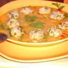 meatball soup  supa cu perisoare