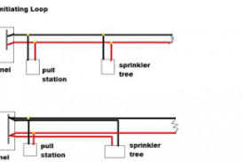 loop of a fire alarm wiring diagram wiring diagrams Electrical Riser Diagram Example at Wiring Fire Alarm Riser Diagram