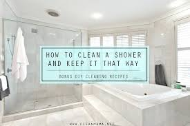 remove mold from shower caulk how to clean a shower and keep it that way bonus