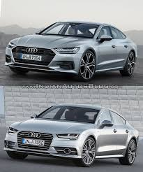 audi a7 2014 custom. 2018 audi a7 sportback vs 2014 front three quarters custom