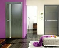 interior doors slab interior slab doors with glass