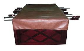 foosball table cover in brown br free