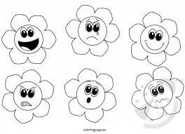 Fiori Delle Emozioni Da Colorare Lavoretti Creativi
