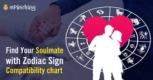 Zodiac Soulmates Chart Best Friend And Soulmate As Per Your Zodiac Sign