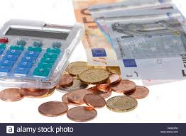 Calculation Euro Currency Pocket Calculator Ability Spending