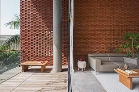 the bricks furniture. Brick Curtain House By Design Work Group The Bricks Furniture