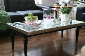 mirrored coffee table. *Slightly Mirrored Coffee Table