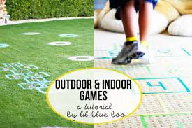 homemade outdoor games for kids. Outdoor And Indoor Games For Kids DIY Tutorial Via Lilblueboo.com Homemade S