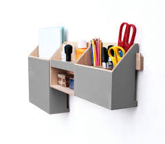 wall hanging organizer office. Wood Wall Organizer, Grey Mail Hanging Pen Holder, Home Office Gray Set, Gift For Him Organizer H