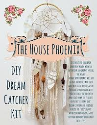 Are Dream Catchers Bad Luck New Amazon Cream DIY Dream Catcher Craft Kit The Perfect Boho Chic