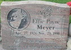 Effie Payne Meyer (1924-1998) - Find A Grave Memorial