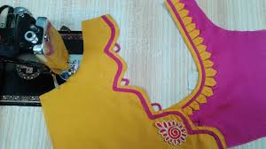 Beautiful Blouse Neck Designs Images Pin On Blouse Designs