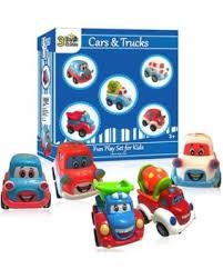 toy cars and trucks. 3 Bees \u0026 Me Car Toys And Trucks Play Set - Pull Back Toy Cars D