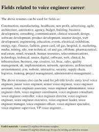 Cisco Voice Engineer Sample Resume Beauteous Top 44 Voice Engineer Resume Samples