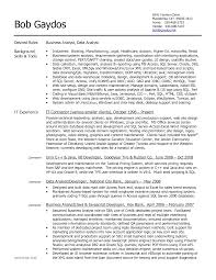 business analyst resume sample india business analyst resume business analyst resume objective