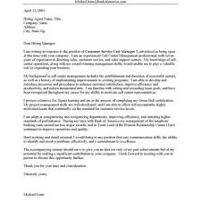 Sample Cover Letter For Call Center Representative Gallery Cover
