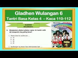 Purwa berasal dari bahasa jawa. Tantri Basa Kelas 4 Gladhen Wulangan 6 Hal 110 112 Basa Jawa Kelas 4 Youtube