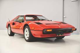 308 / gtsi quattroval leather. 1985 Ferrari 308 Gts Br Audrain Auto Museum