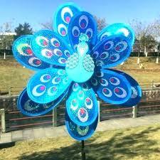 garden wind garden wind wind garden decor garden wind ornaments peacock wind spinner whirligig garden windmill garden wind