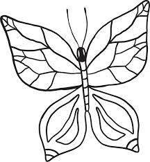 Small Picture Free Printable Butterfly Coloring Page for Kids