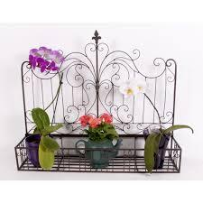 bertha s basket ornate vintage wall hanging basket for plants