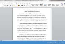 writingsdepot com s students in an essay of words comprehensively discuss causal factors the implications and possible mitigation regarding ebd students