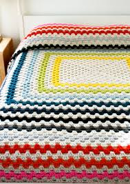 Granny Square Blanket Pattern Gorgeous Giant Giant Granny Square Blanket Purl Soho