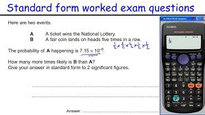 how to do standard form gcse maths revision higher level worked calculator symbolab maxresde standard form