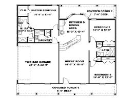 3 Bedroom Open Floor House Plans Ideas New Ideas