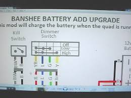 yamaha banshee stator battery ugrade wiring diagram engine motor you re almost done yamaha banshee stator battery ugrade wiring diagram engine motor lights