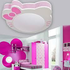 girls room lighting. discount cartoon kitty cat girl room ceiling led lighting cute childrenu0027s study bedroom lamp pendant glass fixtures from aaa1122333 girls