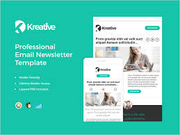 20 Free Email Newsletter Templates For 2018 Dribbble Graphics