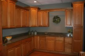 ... Kitchen Wall Colors With Honey Oak Cabinets On (736x490)