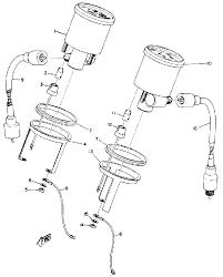 1973 yamaha gp433b speedometer tachometer parts best oem speedometer tachometer parts diagram for 1973 gp433b motorcycles