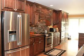 clear alder kitchen cabinets