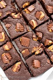 peanut butter cup brownies. Beautiful Peanut Gluten Free Vegan Peanut Butter Cup Brownies VGF Rich Fudgy With C