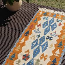 picture of 2 1 x 6 4 short turkish kilim runner