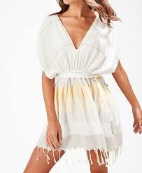 White Tassel Detailed Beach Dress
