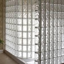 glass block shower enclosure