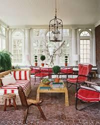 Contemporary Sunroom Furniture Wicker Sunroom Furniture Lake View White Finish Glass Top Table