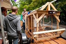 Mobile Chicken Coop Designs Automated Mobile Chicken Coop Ingenium
