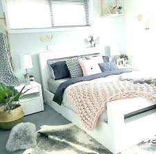 Grey And White Room Decor Black White And Gold Bedroom White Pink ...